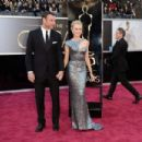 Liev Schreiber and Naomi Watts At The 85th Annual Academy Awards (2013) - 454 x 302