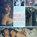 Michèle Mercier - Magazyn filmowy Magazine Pictorial [Poland] (5 March 1972) - 454 x 643