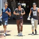 Big Time Rush caught a flight out of Maui yesterday afternoon, May 29. The Nickelodeon boyband was in Hawaii to shoot their new music video