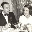 Norma Shearer and David Niven