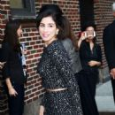 Sarah Silverman Arriving At The Late Show With Stephen Colbert In Nyc