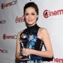 Actress Rose Byrne accepts the