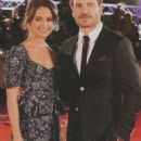 Michael Fassbender and Alicia Vikander - Star Hits Magazine Pictorial [Russia] (30 October 2017) - 454 x 1027