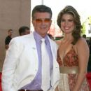 Alan Thicke and Tanya Callau - 408 x 600