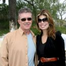 Alan Thicke and Tanya Callau - 400 x 600