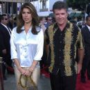 Alan Thicke and Tanya Callau - 382 x 600
