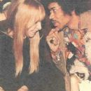 Jimi Hendrix and Monika Dannemann - 406 x 473