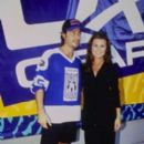 Yasmine Bleeth and Ricky Paull Goldin