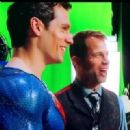 Henry Cavill- Backstage- The Justice League