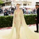 Rosie Huntington-Whiteley in Ralph Lauren dress :  2018 Met Gala