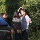 Mila Kunis and Zoe Saldana – Out in Los Angeles - 454 x 681
