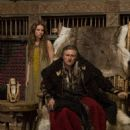 Gabriel Byrne and Jessalyn Gilsig in the TV series 'Vikings' (2013)