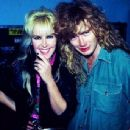 Lita Ford and Dave Mustaine