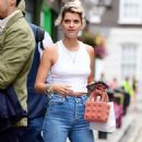 Pixie Geldof is spotted donning a casual look out in Soho - 454 x 888