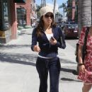 Eva Longoria Leaving Hair Salon In Beverly Hills, October 21 2009