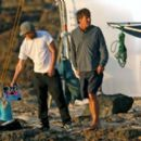 Dennis Quaid And AnnaSophia Robb Film Scenes For Their Upcoming Movie Soul Surfer, 2010-02-03