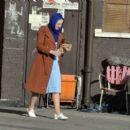 Dakota Fanning – Filming 'Sweetness in the Belly' in Dublin - 454 x 408