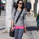 Jordana Brewster: out with a friend in West Hollywood