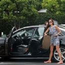 Nina Dobrev Goes Shopping And Gets Some Lunch In West Hollywood