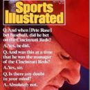Pete Rose - Sports Illustrated Magazine Cover [United States] (3 July 1989)