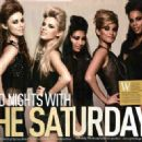The Saturdays Magazine scans and shoots - 454 x 327