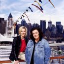 Kelli (left) and Rosie O'Donnell (right) in documentary film All Aboard! Rosie's Family Cruise - 2006 - 454 x 604