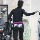 Halle Berry - Leaves her friend's house in Lake Hollywood Feb 24, 2011