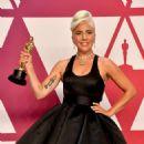 Lady Gaga At The 91st Annual Academy Awards - Press Room - 454 x 454