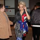 Bebe Rexha – Visited TPMP TV Show in Paris