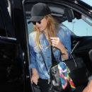 Jessica Alba at LAX Airport in LA - 454 x 681