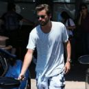 Scott Disick spotted at Maria's Italian Kitchen in Calabasas, California on June 24, 2016