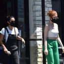 Madelaine Petsch and Camila Mendes – Out and about in LA