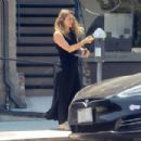 Alicia Silverstone – Feeding the meter in Beverly Hills