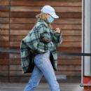 Hailey Bieber and Justin Bieber – Christmas shopping at Maxfield in West Hollywood