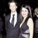 Pregnant Marion Jolles with Romain Grosjean (Jan 2013) - 250 x 382