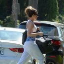Kate Beckinsale – Heading to a gym and then to a salon in Los Angeles