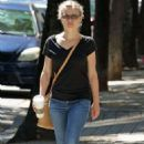 Emilie De Ravin in Jeans out in Vancouver