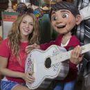 Shakira Visits Disney California Adventure - 454 x 375