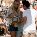 Tara Reid In Her Bikini And Enjoys A Pool Party In Palm Springs - 04/20/09