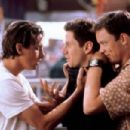 Skeet Ulrich as Billy Loomis, Jamie Kennedy as Randy Meeks and Matthew Lillard as Stuart Macher in Scream (1996) - 454 x 303