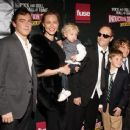 Lars Ulrich of Metallica and family attend the 24th Annual Rock and Roll Hall of Fame Induction Ceremony at Public Hall on April 4, 2009 in Cleveland, Ohio - 454 x 366