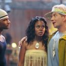 Damien Wayans, Regina Hall and Jamie Kennedy in Warner Bros. Pictures hip-hop comedy 'Malibu's Most Wanted.' - 454 x 301