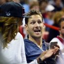 Juan Pablo Galavis attends a Miami Heat basketball game with friends on December 17, 2014 in Miami, Florida - 454 x 501