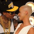 Amber Rose and Wiz Khalifa Attend the 28th Annual MTV Video Music Awards at the Nokia Theatre L.A. Live in Los Angeles, California -  August 28, 2011 - 406 x 594