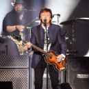 Paul McCartney performs on Opening Night of the One On One Tour at Save Mart Center on April 13, 2016 in Fresno, California