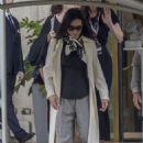 Lucy Liu – Leaving her hotel in Rome - 454 x 681