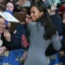 Alicia Keys - Leaving The Late Show With David Letterman, Ed Sullivan Theatre, New York, 29/04/08