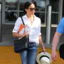 Meghan Markle in Jeans out in Austin