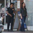 Jennifer Love Hewitt on the set of '9-1-1' in Los Angeles - 454 x 359