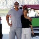 Jennifer Lopez and Alex Rodriguez Out in Paris - 454 x 681
